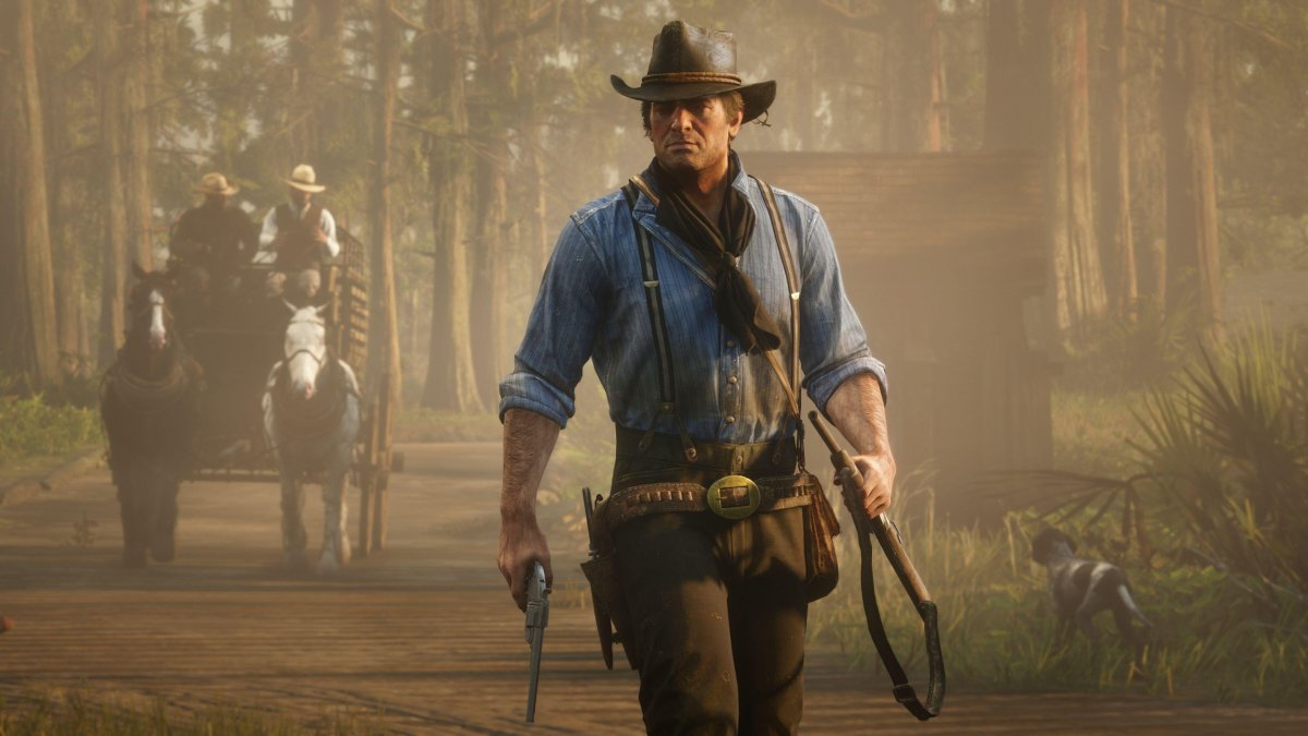 Red Dead Redemption 2 Will Come On 2 Discs