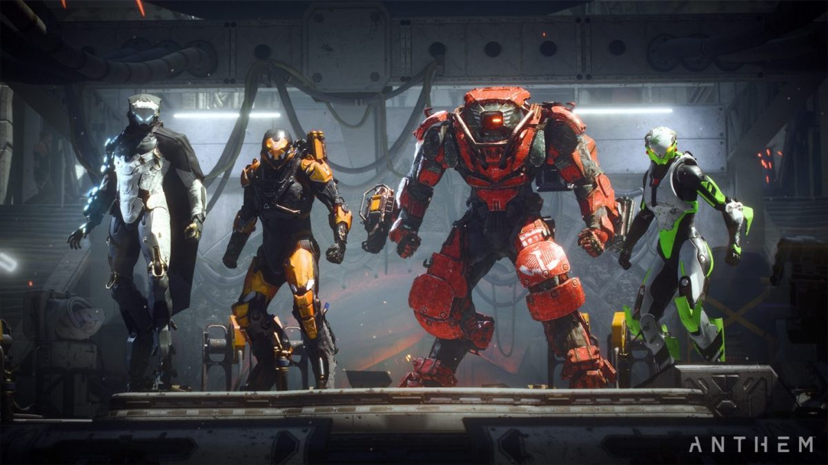 Anthem is Getting a Loot Overhaul